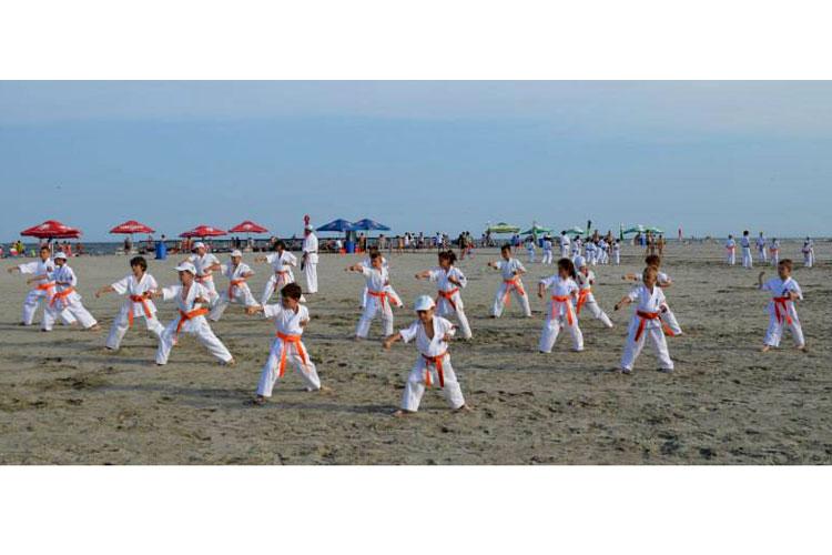 Tabără kyokushin la Sulina