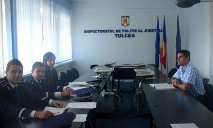 Trei noi ofiţeri şi-au preluat posturile din cadrul IPJ Tulcea