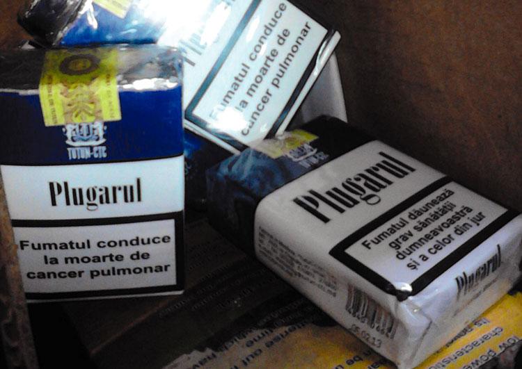 Contrabandă cu ţigări: poliţiştii au confiscat 22 de pachete de la un individ din Luncaviţa
