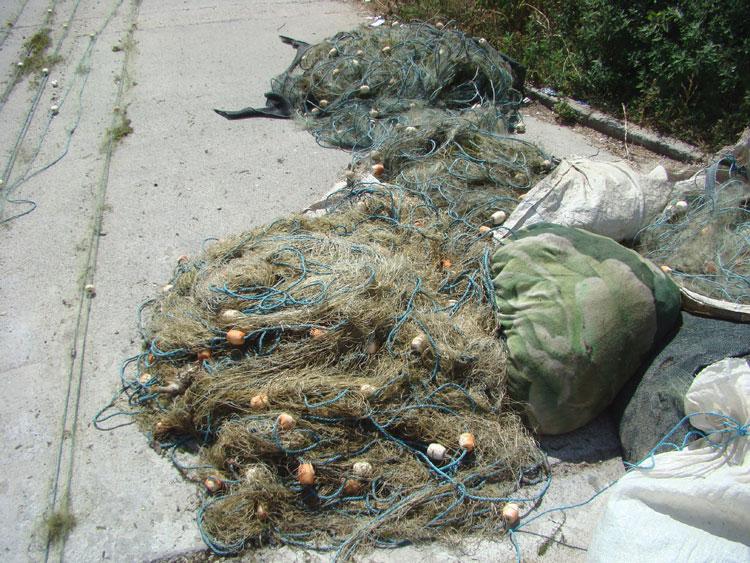 Braconaj la Maliuc: Peste 370 kilograme de peşte  şi 3.180 metri de plasă monofilament confiscate de poliţiştii de frontieră, pe Lacul Gorgova