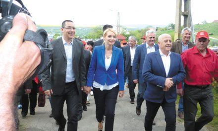 PSD, demonstraţie de forţă pe Arena Naţională: O delegaţie de 500 de social-democraţi tulceni, prezentă la lansarea candidaturii lui Victor Ponta