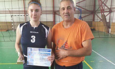 Turneul naţional de volei – Cupa Fun  Sports 2014, Braşov Tulceanca Beatrice Novicov, desemnată cea mai completă jucătoare a competiţiei
