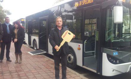 Noile autobuze cumpărate de primărie vor circula de luni, pe traseul 4