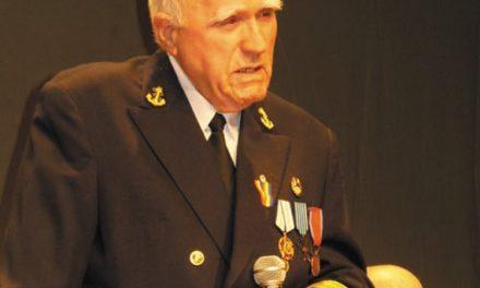 Decanul de vârstă al rezerviştilor tulceni,Ioan Stoica, a împlinit 90 de ani
