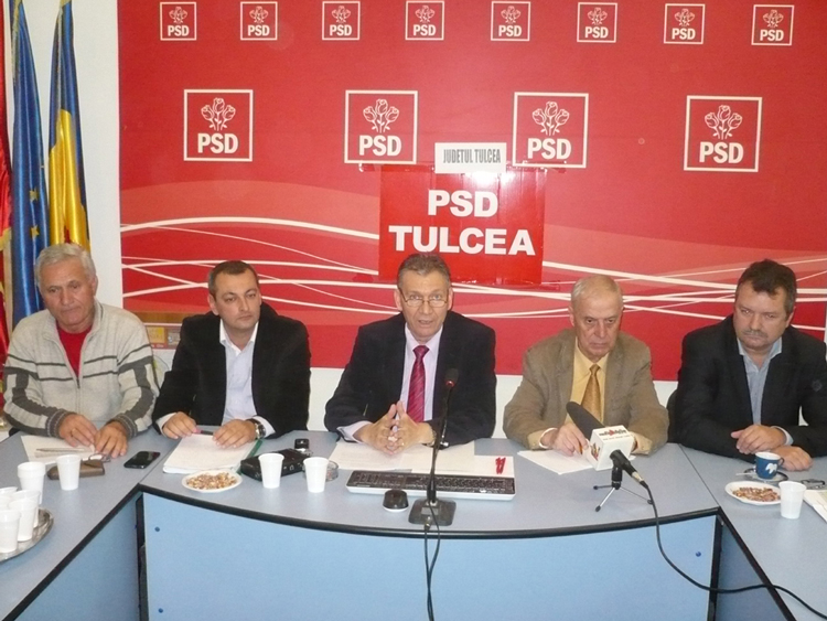 Mesajele liderilor partidelor care susţin candidatura lui Victor Ponta pentru electoratul tulcean