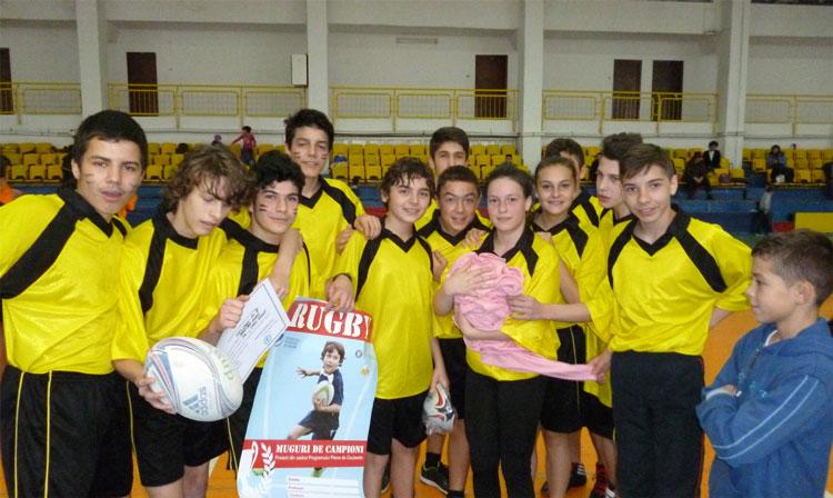 """Rugby Tag: Echipa Colegiului """"Spiru Haret"""" reprezintă Tulcea în finalele de la Bucureşti"""