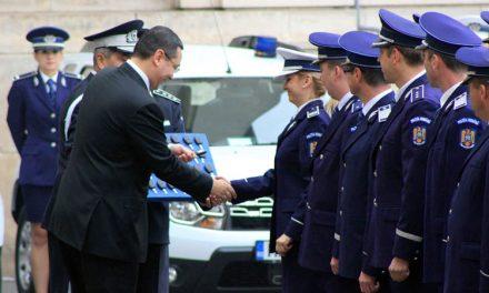 Trei dintre cele 450 de autoturisme noi primite de MAI vor ajunge la Tulcea