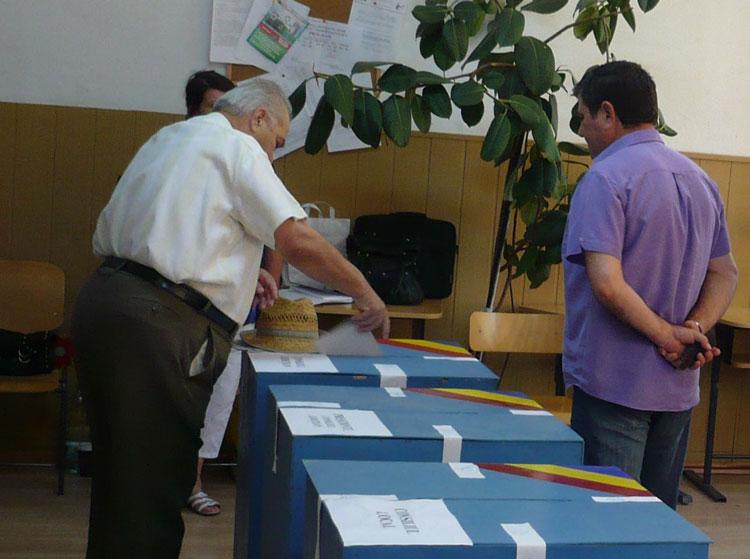 Vot liniştit în judeţ: oamenii legii nu au raportat niciun incident electoral
