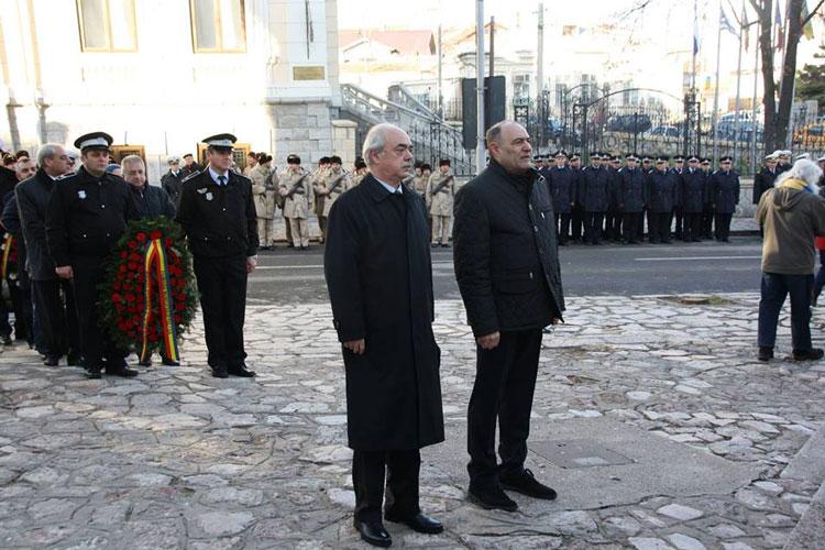 Autorităţile tulcene au comemorat împlinirea a 25 ani de la Revoluţie