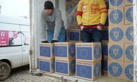În municipiu, alimentele de la U.E. ajungla beneficiari în a doua jumătate a lunii decembrie