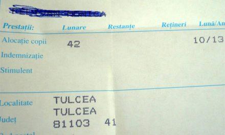 Bâlba ANAF cu impozitarea alocaţiilor, depistată la Tulcea