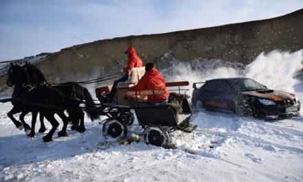Echipajul tulcean Daniel Pohariu – Lucian Ştefan, la Winter Rally Covasna
