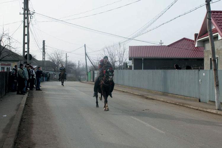 Finalul Sărbătorii Moşoaielor, marcat de întrecerea cailor de la Luncaviţa