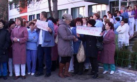 Grevă spontană la Spitalul Judeţean Tulcea