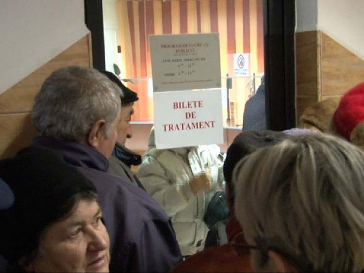 Aproape 700 de bilete de tratament au ajuns la Tulcea