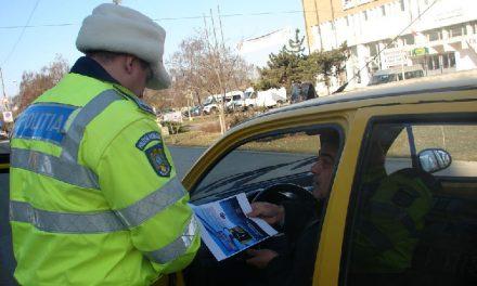 Campanie de promovare în rândul şoferilor tulceni a noilor reguli privind transportul copiilor