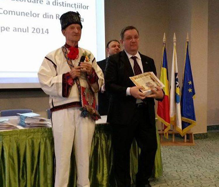"Primarul Marian Naiman, recompensat cu Ordinul de Merit ""Nicolae Sabău"""
