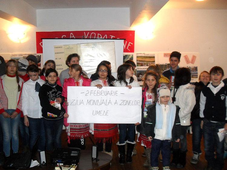 Elevii tulceni au sărbătorit Ziua Mondialăa Zonelor Umede
