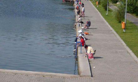 Pescuitul pe Ciuperca, interzis până la organizarea unui concurs sportiv dedicat undiţarilor înrăiţi