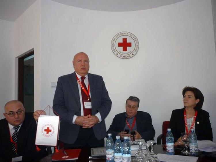 Dr. Dumitru Vâlcu este noul preşedinte al Crucii Roşii – Filiala Tulcea