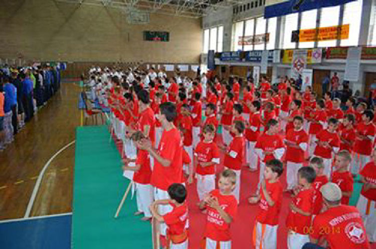 Competiţie regională de karate kyokushin la Luncaviţa