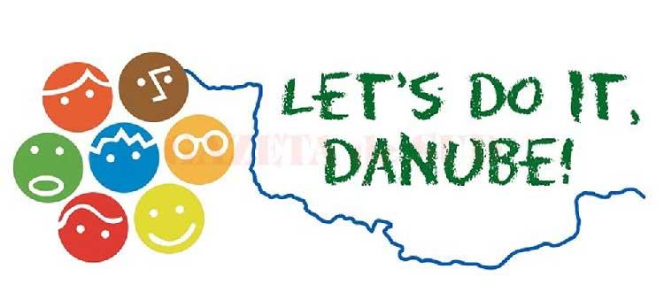 """Elevii tulceni, voluntari la cea de-a doua ediţie a campaniei """"Let's Do It, Danube!"""""""