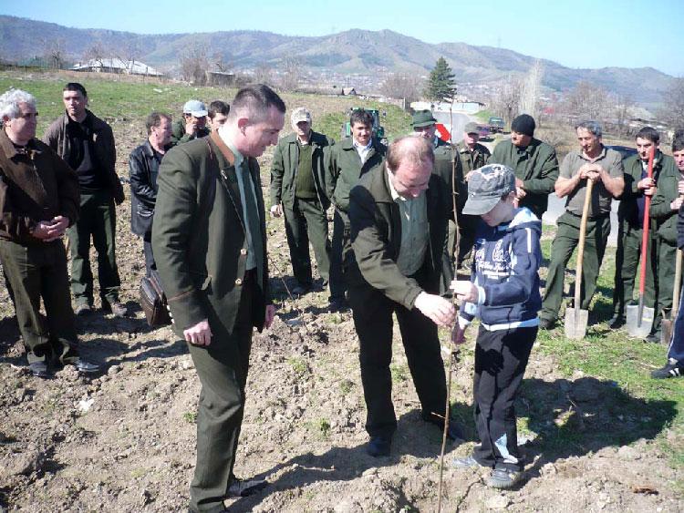 Mai bine de 50 de hectare vor fi împădurite în această primăvară la Tulcea