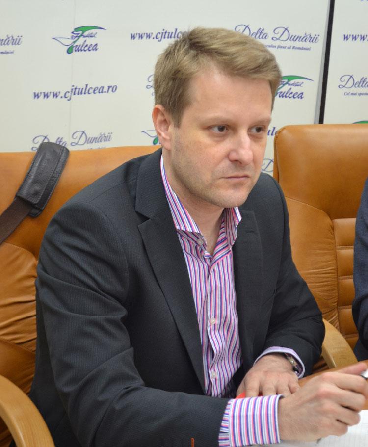 Dr. Tudor Năstăsescu, noul manager al Spitalului Judeţean Tulcea