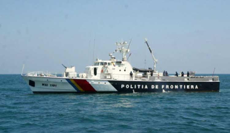 Pescari salvaţi de poliţiştii de frontieră