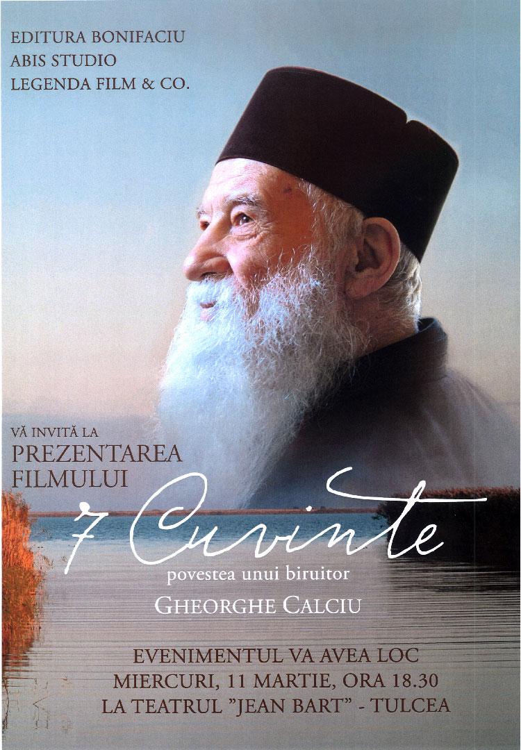 Povestea cutremurătoare a părintelui Gheorghe Calciu, prezentată la Tulcea