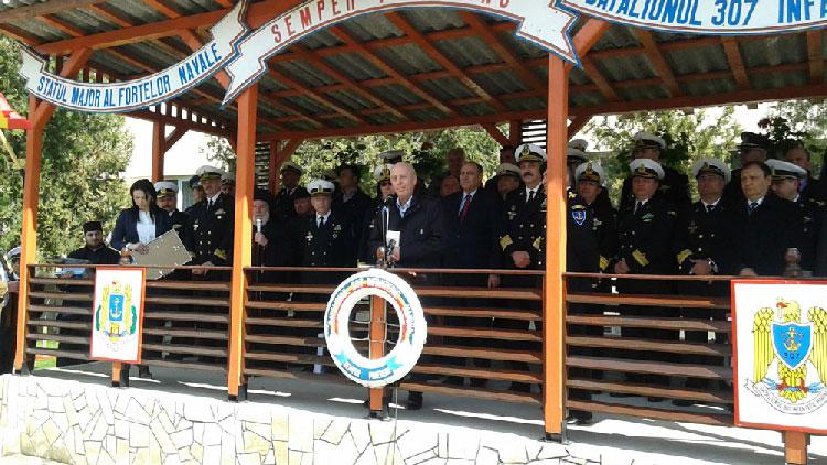 Militarii tulceni au sărbătorit împlinirea a 75 de ani de la înfiinţarea Batalionului de Infanterie Marină