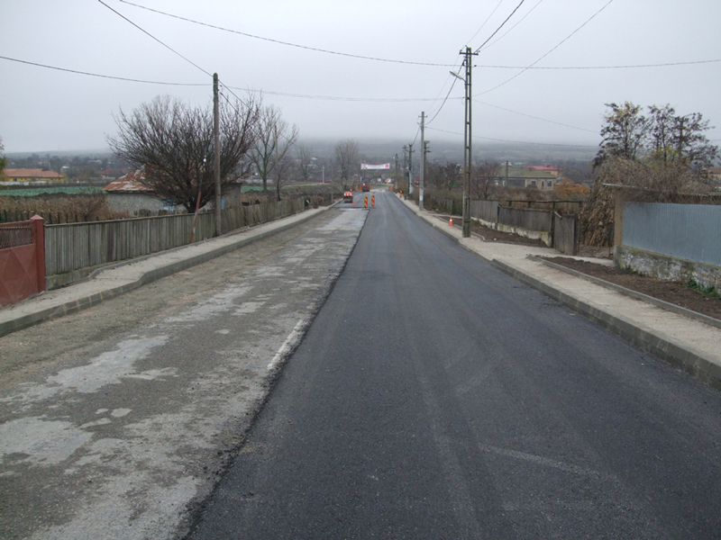 De la Murighiol la Agighiol, pe o şosea reabilitată