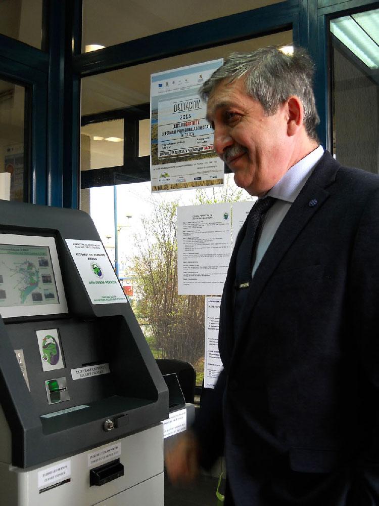 Două automate de eliberare a permiselor necesare în Rezervaţie, inaugurate în municipiu