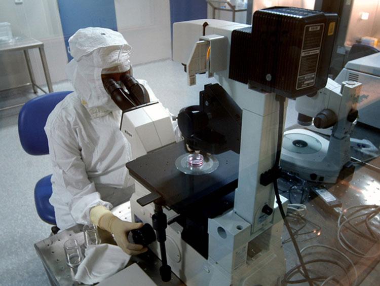 Laborator de cercetare la Somova