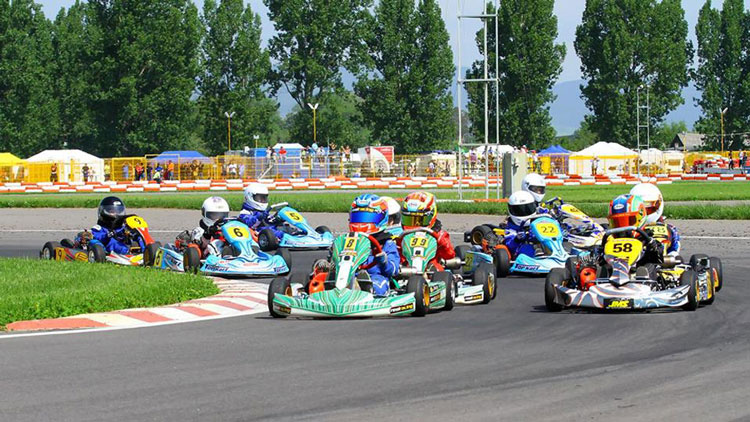 Circuit de karting la Tulcea