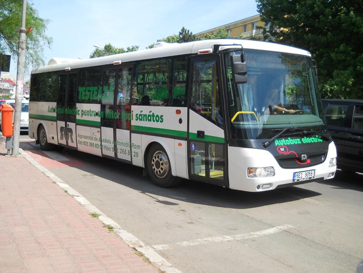 Autobuzul electric, adorat de tulceni pentru că a fost… gratis!
