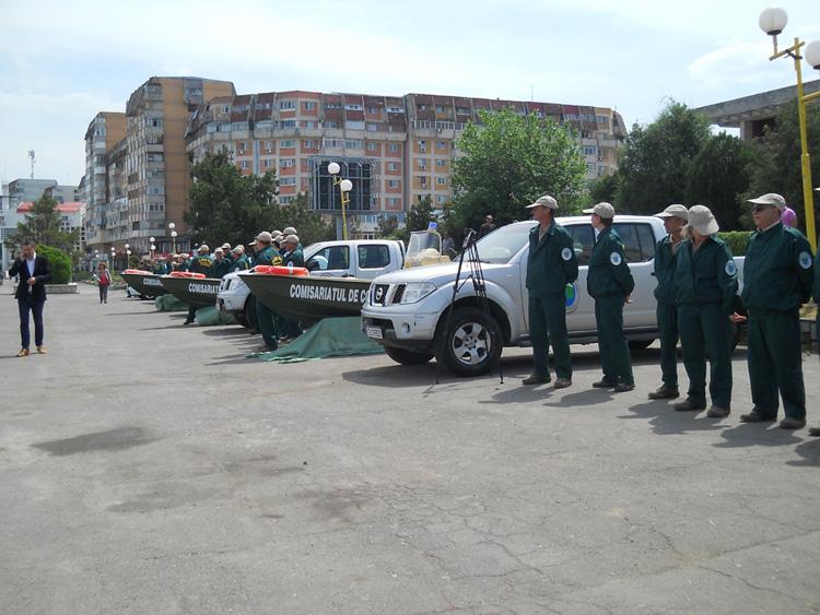 Comisariatul Integrat de Control Delta Dunării, prezentat oficial de ministrul Mediului
