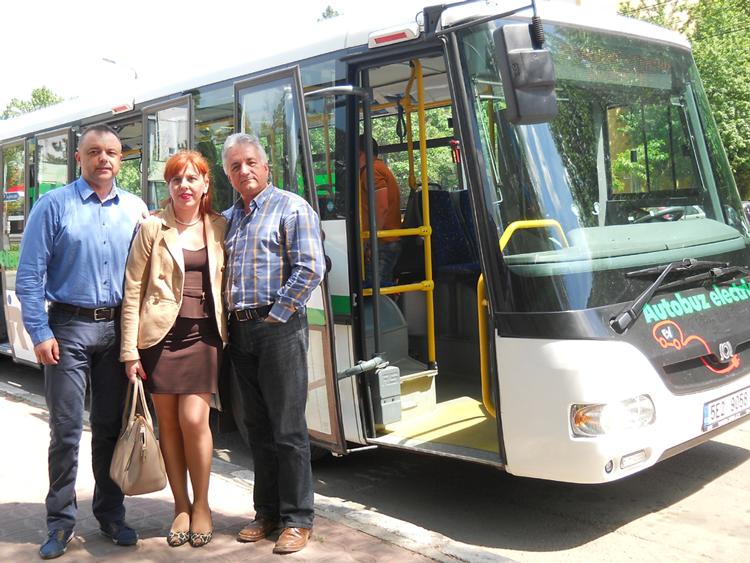 În următorii doi ani, Municipalitatea vrea să acceseze fonduri europene pentru a cumpăra cel puţin un autobuz electric