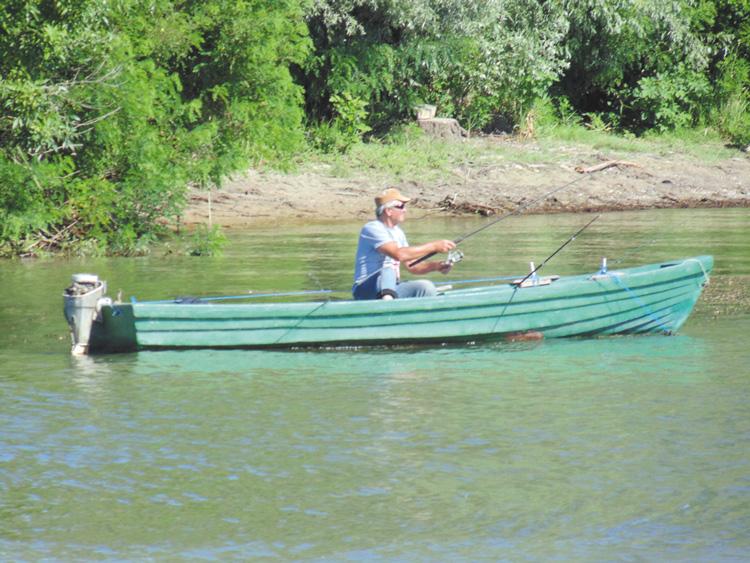 Pescuitul în apele de frontieră, permis începând de  mâine!