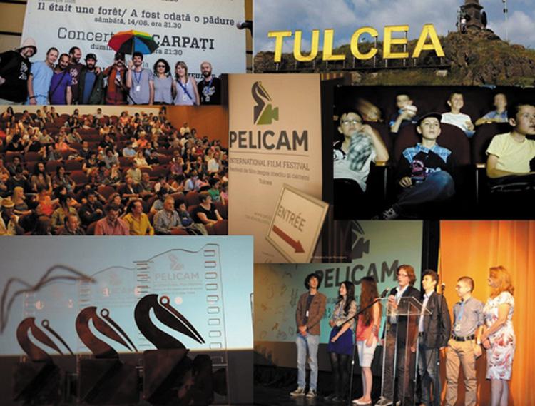 Ziua de debut a celei de-a patra ediţii a festivalului Pelicam, dedicată copiilor tulceni