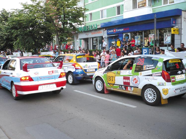 Raliul Deltei blochează străzile din municipiu