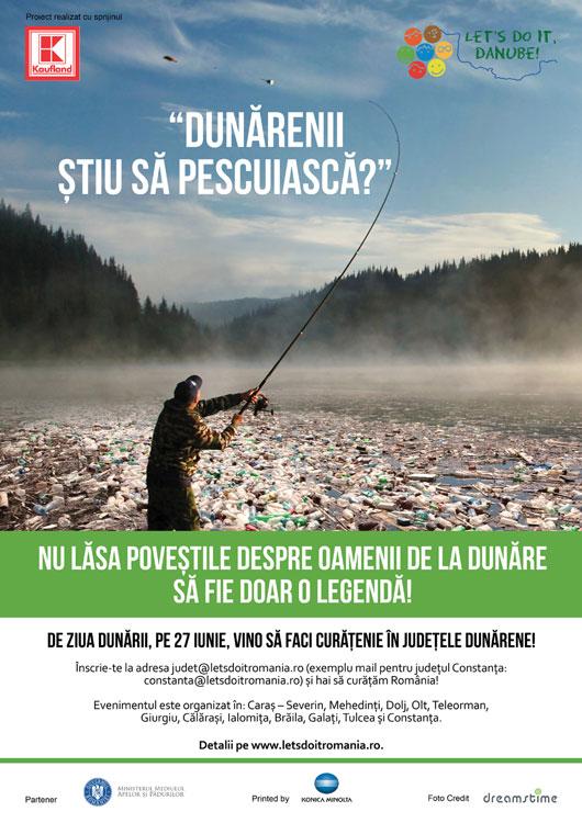 """Ziua de curăţenie generală: se apropie o nouă ediţie a campaniei  """"Let`s Do It, Romania!"""""""