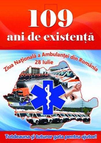 Astăzi, echipajele Serviciului de Ambulanţă Judeţean sunt în sărbătoare