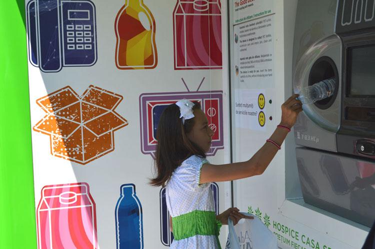 Prima staţie automatizată de colectare a deşeurilor, adusă de Lidas la Tulcea