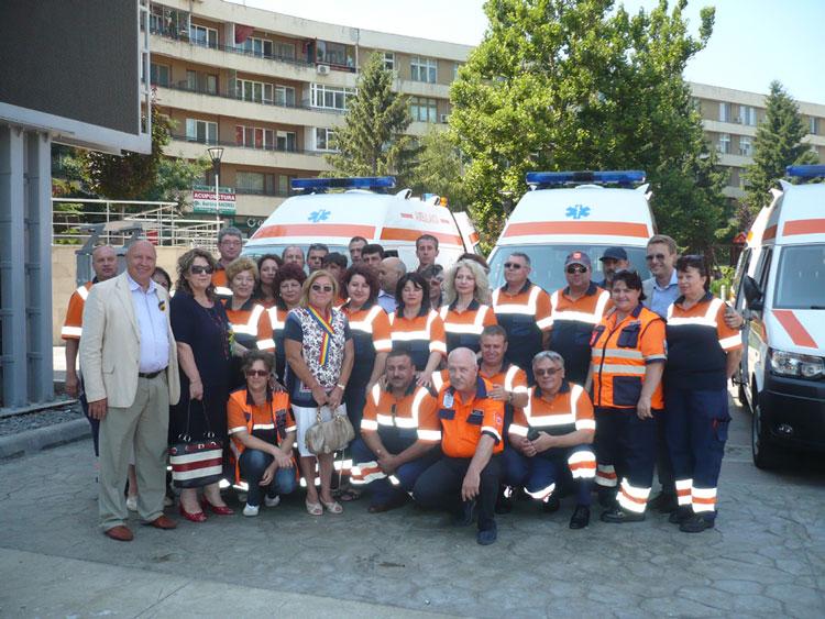 Ambulanţe noi pentru misiunile de urgenţă de la Tulcea