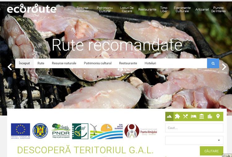 Delta Dunării, pe telefonul mobil: Ecoroute îţi planifică vacanţa pe baltă!