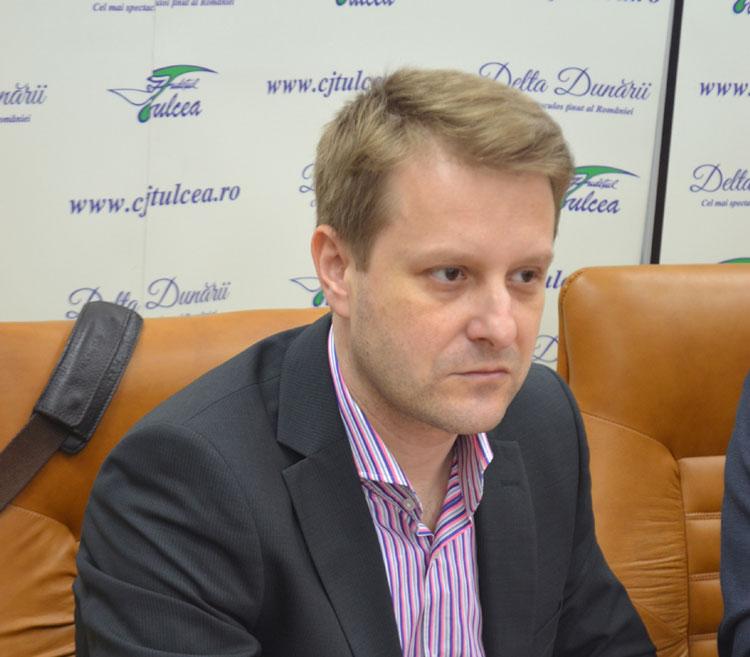 """Dr. Tudor Năstăsescu, manager """"plin"""" al Spitalului Judeţean de Urgenţă Tulcea"""