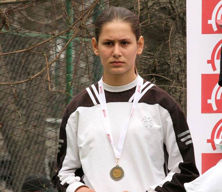 Oana Solunaru, medalie de bronz la suliţă