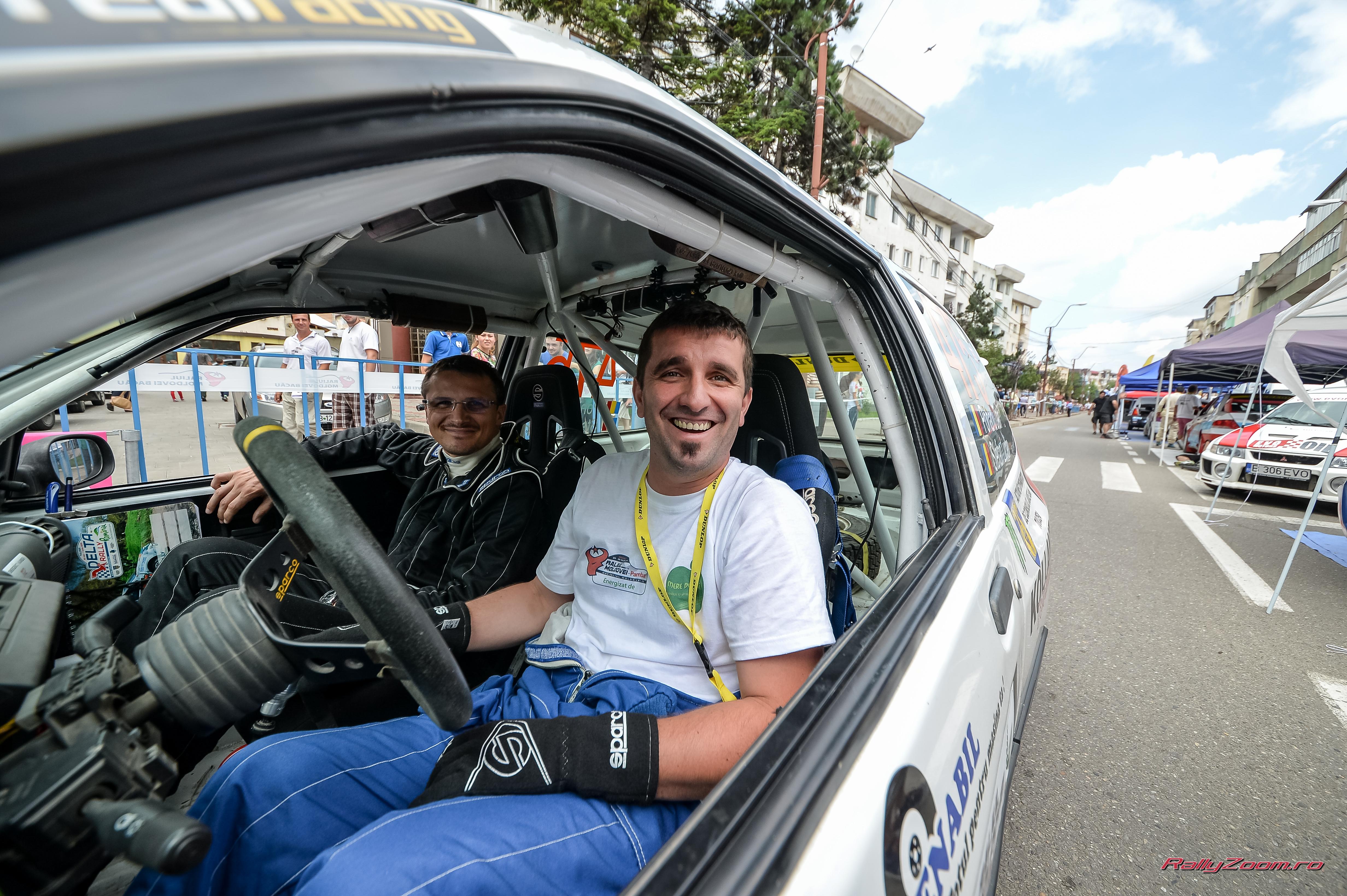 Transilvania Rally – Probleme la cutia de viteze pentru echipajul tulcean