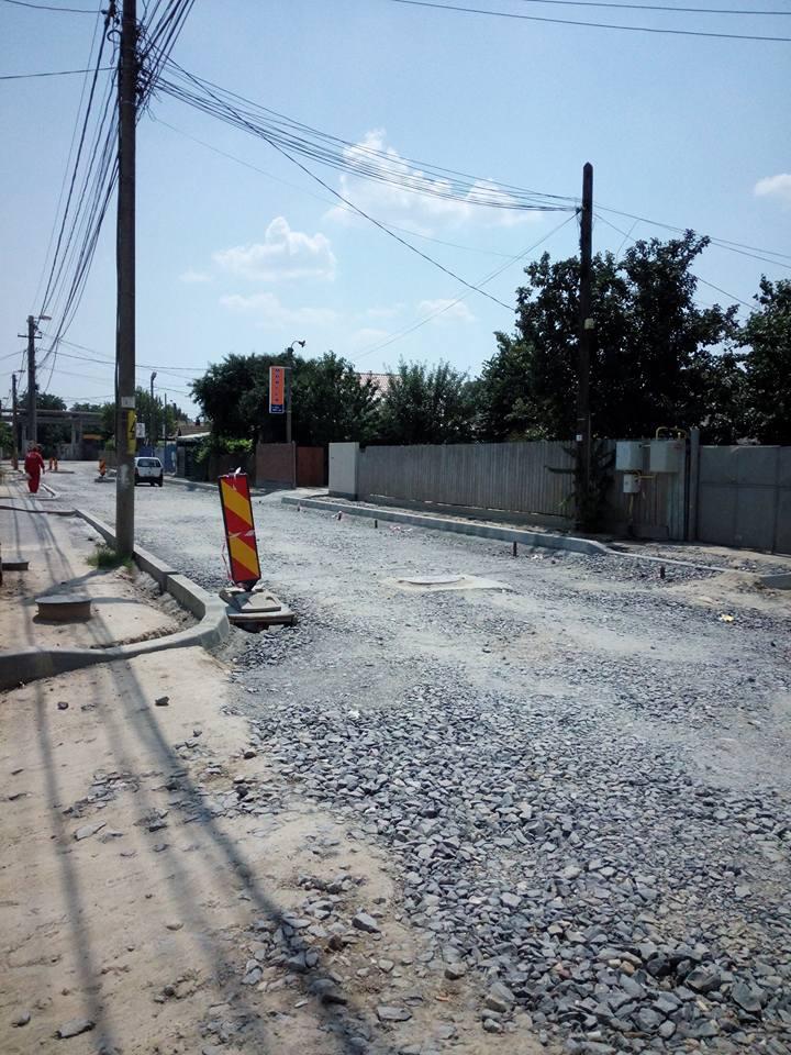 Se toarnă asfalt pe Taberei, din această săptămână